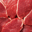 Piece of fresh raw meat - Stockfoto