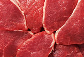 Piece of fresh raw meat — Stock Photo