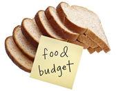 Food Budget — Stock Photo