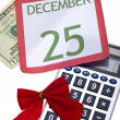 Calculating Cost of Holidays — Stock Photo #4015929