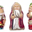 Vintage SantHoliday Ornaments — Stock Photo #4016113