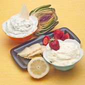 Sweet and Savory Dip Spread — Stock Photo