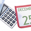 Holiday Season Budget — Stock Photo #4024607