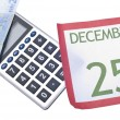 Holiday Season Budget — Foto de Stock