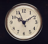 Vintage Look Clock — Foto Stock