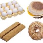 Breakfast Variety Image — Stock Photo