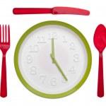 Yemek zamanı concpet — Stok fotoğraf