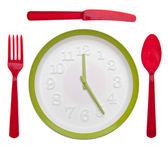 Jídlo čas concpet — Stock fotografie