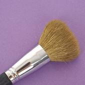 Make Up Brush on a Vibrant Background — Stock Photo