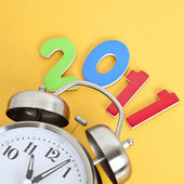 Time for 2011 — Stock Photo
