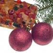Holiday Fruit Cake — Stockfoto