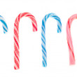 Variety of Candy Cane Candies — Foto Stock #4286403