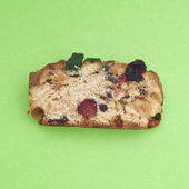 Holiday Fruit Cake — Stock Photo
