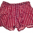Sexy Men Heart Boxer Shorts - Stock Photo