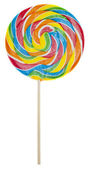Rainbow Lolly Pop — Stock Photo