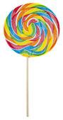 Rainbow Lolly Pop — Stock Photo