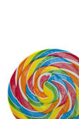 Vibrant Rainbow Lolly Pop — Stock Photo