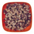 Bowl of Canned Black Eyed Peas — Stock Photo