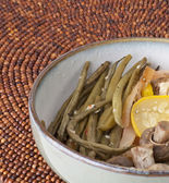 Gourmet Green Beans, Squash and Mushrooms — Stock Photo