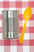 Canned Soup — Stock Photo
