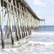 Pier at CarolinBeach, North Carolina — Stock Photo #4653569