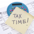 Tax Time — Foto Stock