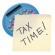 Stock Photo: Tax Time