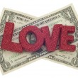 Love or Money — Stock Photo