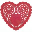 Decorative Red Heart - Stock Photo