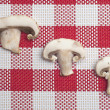 Button Mushroom Food Background — Stockfoto