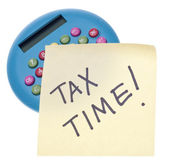 Tax Time — Stock Photo
