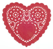 Decorative Red Heart — Stock Photo