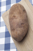 Fresh Potato Food Background — Stock Photo