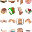 Collection of Sandwiches - Stock Photo