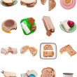Stock Photo: Collection of Sandwiches