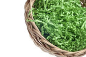 Empty Easter Basket Border — Stock Photo
