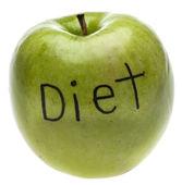 Dieet concept apple — Stockfoto