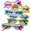 Stock Photo: Summer Child Size Sunglasses