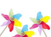 Colorful Pinwheel Background — Stock Photo