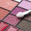 Close Up of Cosmetic Palette - Stock Photo