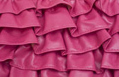 Pink Ruffle Texture Background — Stock Photo