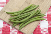 Fresh Green String Beans — Stock Photo
