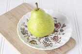 Fresh Green Pear — Stock Photo