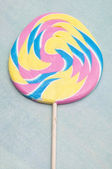 Pastel Rainbow Lollipop — Stock Photo