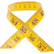 Measuring Tape in Ribbon Shape — Stock Photo #5236160