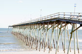 HDR Image of Pier in Carolina Beach, NC — Stock Photo