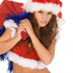 Sexy Santa — Stock Photo #4457914