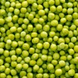 Background of green peas - Stock Photo