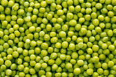 Background of green peas — Stock Photo