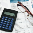 Stock Photo: Financial accounting concept